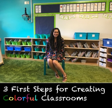 Colorful Pages - 3 First Steps for Creating Colorful Classrooms
