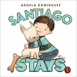 Santiago Stays, by Angela Dominguez
