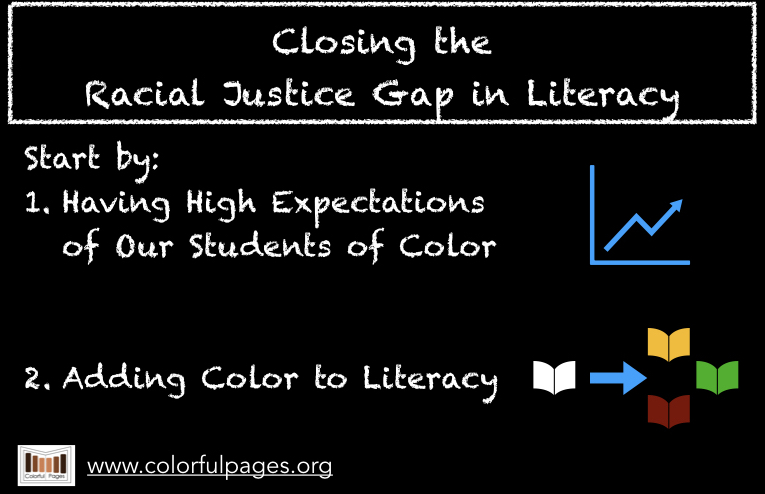 Closing the Racial Justice Gap in Literacy by Colorful Pages