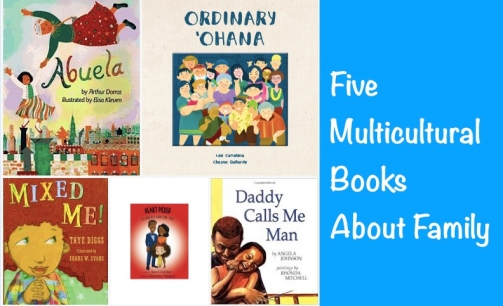 Five Multicultrual Books About Family