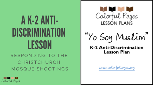 A K-2 Anti Discrimination Lesson: Responding to the Christchurch Mosque Shootings
