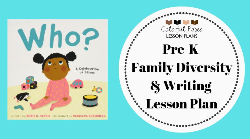 Pre-K Family Diversity & Writing Lesson Plan