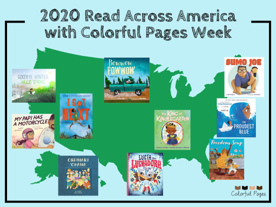 2020 Read Across America with Colorful Pages